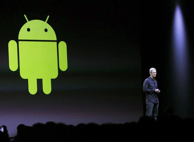 Apple CEO Tim Cook gladly welcomes Android users to make the switch.