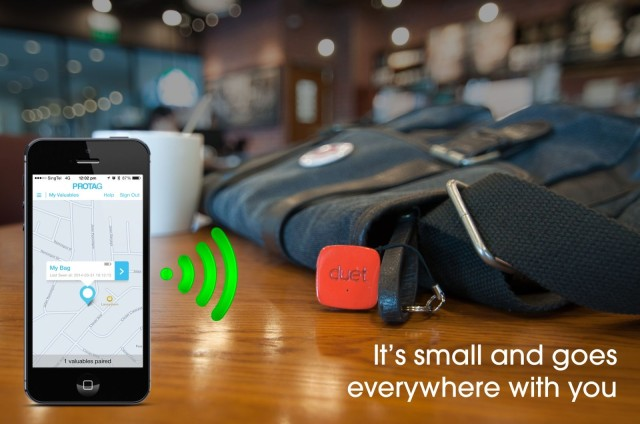 Duet Bluetooth tag