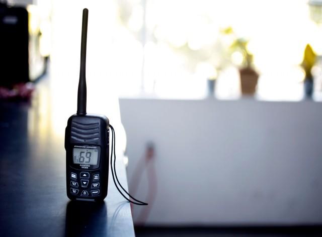 Standard Horizon HX300 radio
