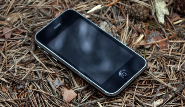 If an iPhone falls in the woods, does it ring? Photo: