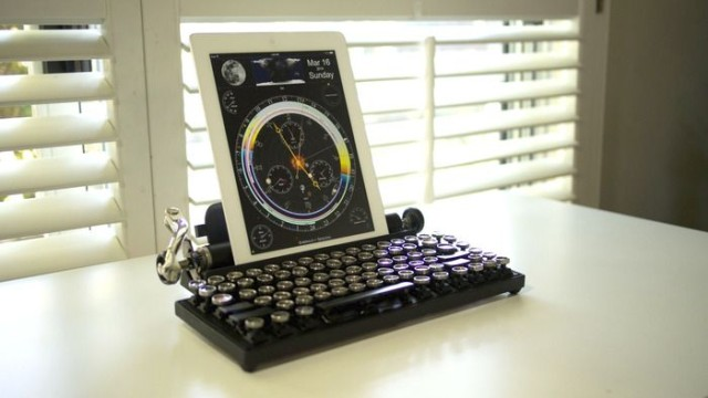 The Qwerkywriter Is An Old School Typewriter For Your Ipad And Imac