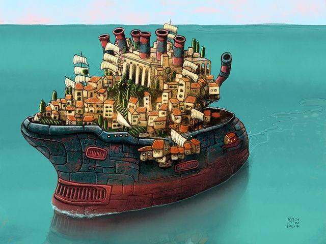 <em>A Shipshape City</em>