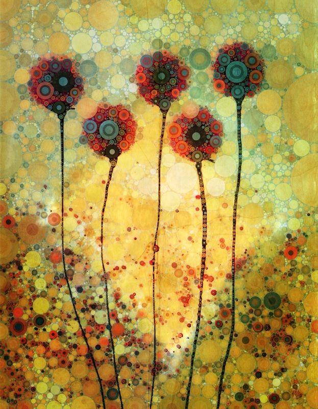 Flowers Dancing in Sunlight