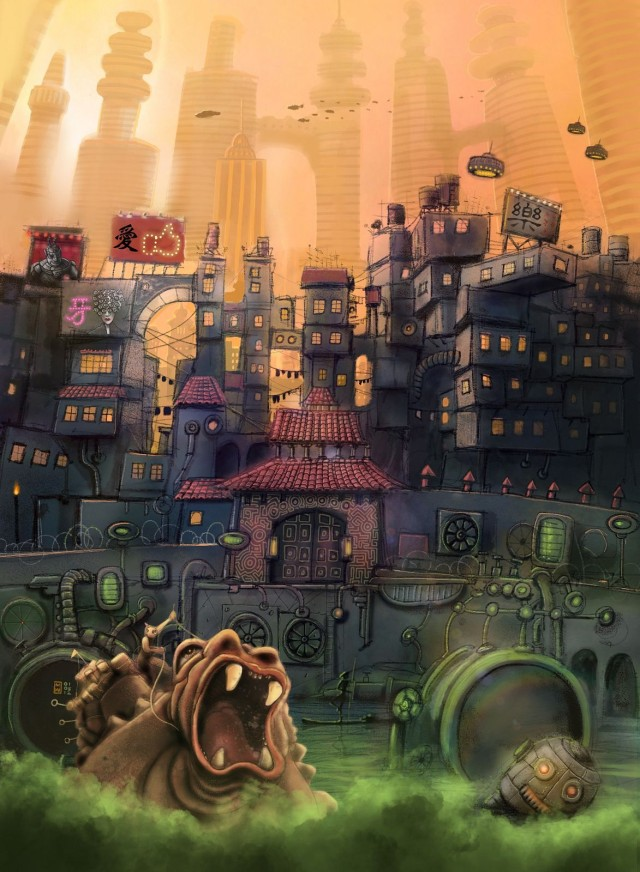 Bringing Imaginary Cities To Life With The Ipad Cult Of Mac