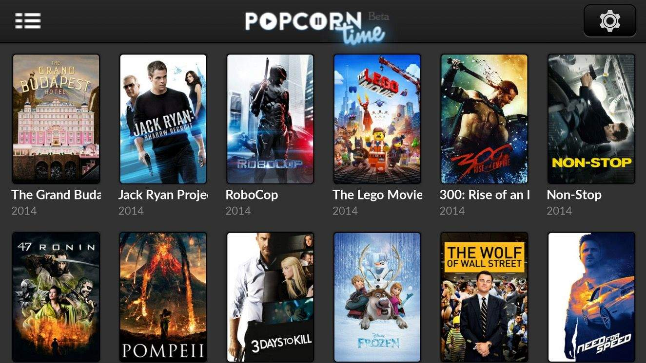 Popcorn Time, Torrents Streaming App is Disabled
