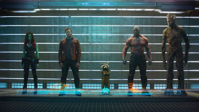 With Guardians of the Galaxy, Marvel Studios is spinning its movie empire forward into the future. Image courtesy Marvel Studios