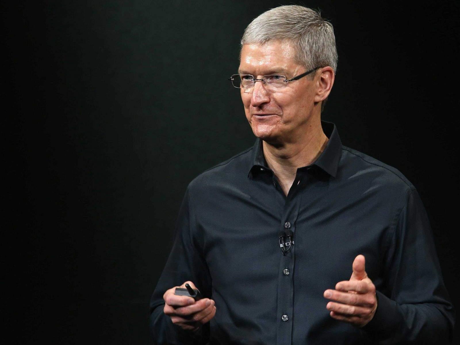 Tim Cook. Photo: Apple
