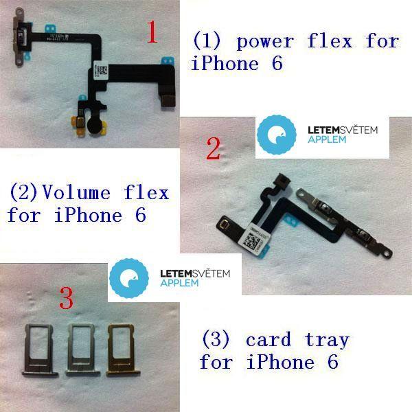 Three little SIM card trays