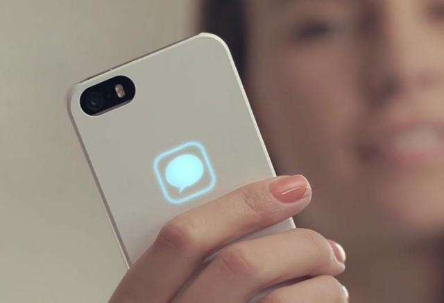 Lunecase smart iPhone case