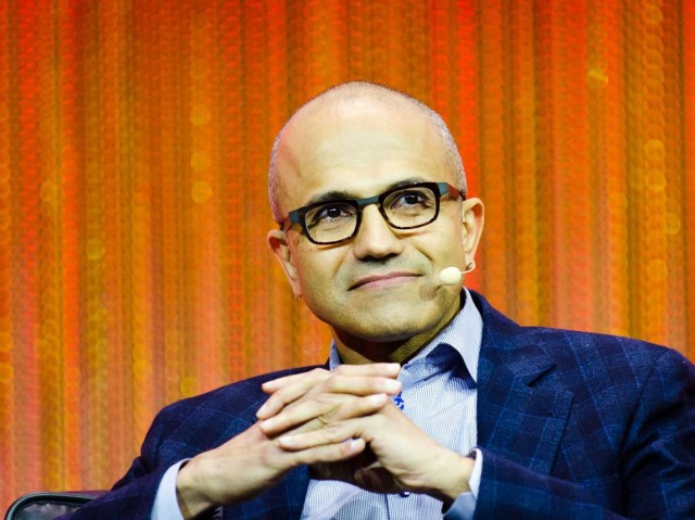 Current Microsoft CEO Satya Nadella has a reputation as someone who cuts middle management.