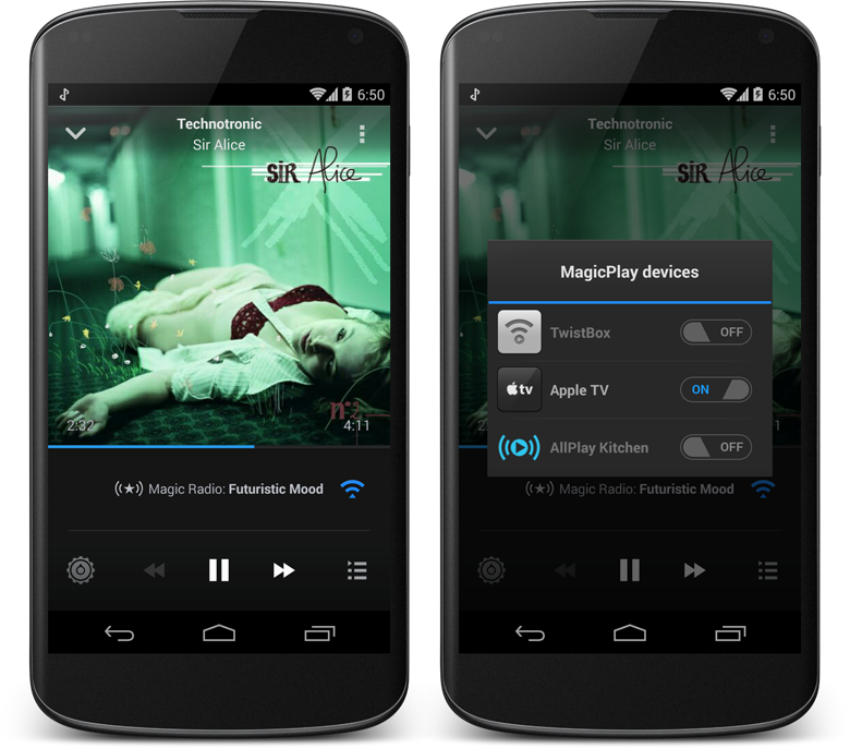 DoubleTwist's Magic Radio service finally supports AirPlay