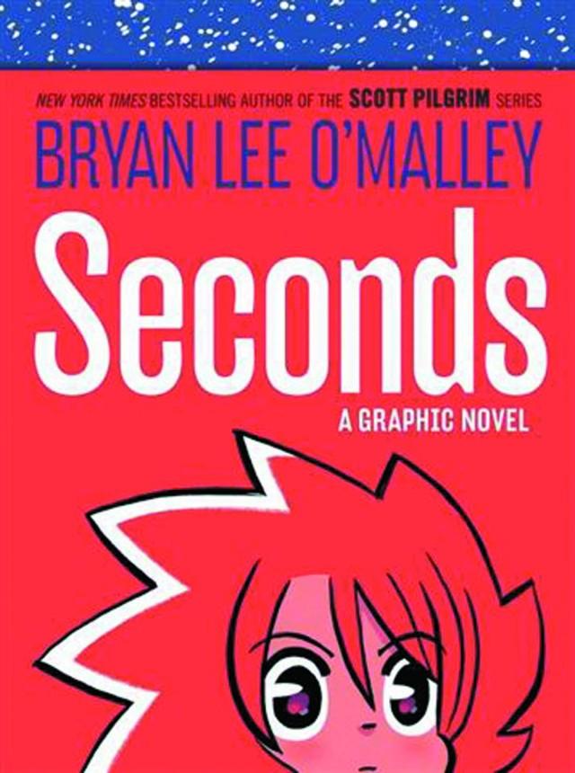 <em>Seconds</em> by Bryan Lee O'Malley