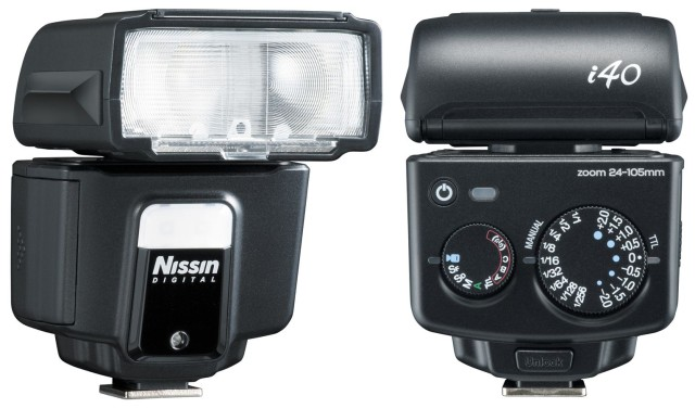 Nissin i40 Micro Four Thirds flash