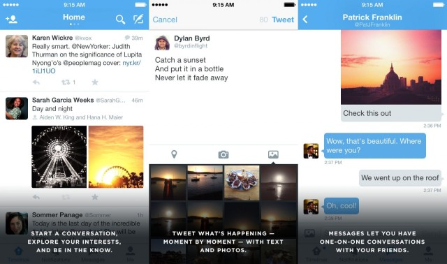 It's not great for personal messaging, but Twitter can just about manage it.