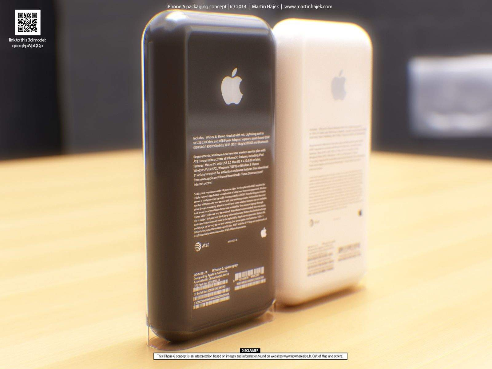 beautiful renders of new iphone 6 packaging make us drool