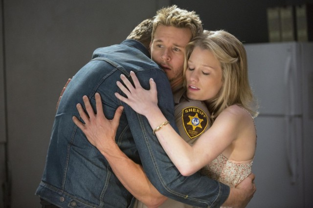 Group hug. Photo: John P. Johnson/HBO