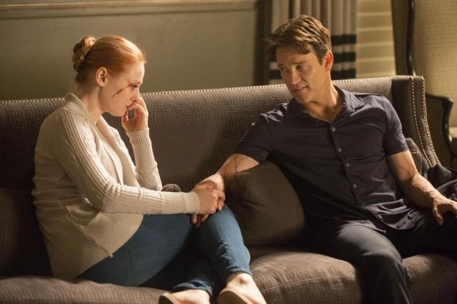 A tender moment. Photo: John P. Johnson/HBO