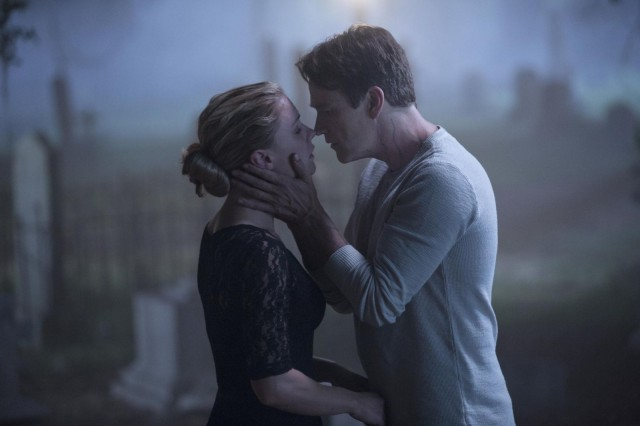 A final kiss. Photo: John P. Johnson/ HBO