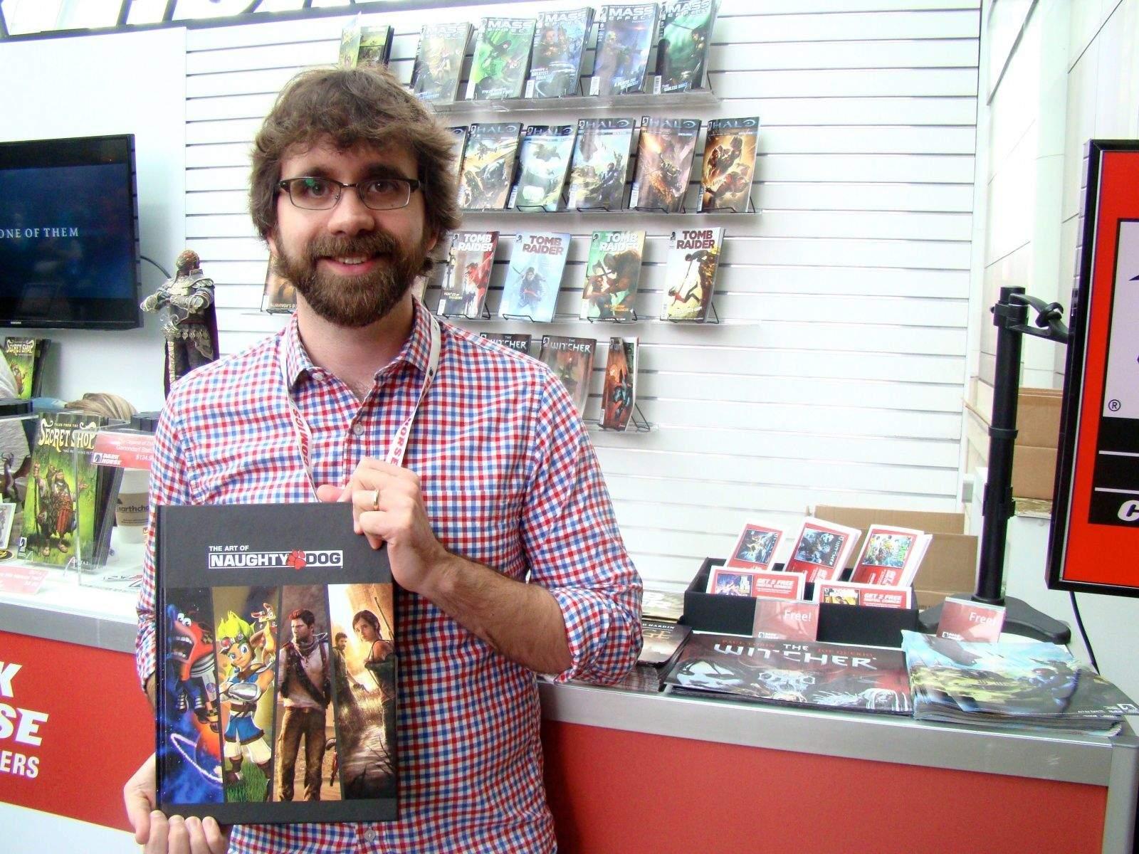Dave Marshall, Editor Dark Horse Comics. Photo: Rob LeFebvre/Cult of Mac