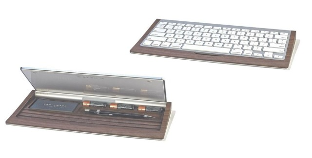 Grovemade walnut keyboard tray