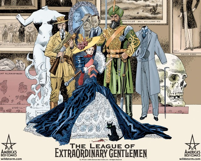 <em>The League of Extraordinary Gentlemen</em>