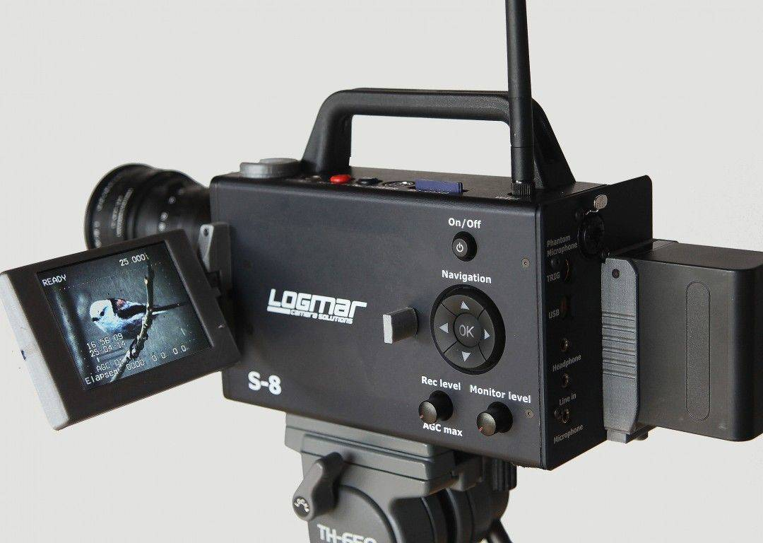 Ever use a Super 8? It's simultaneously amazing (great retro-style footage!) and terrifying (only a few minutes per reel!). And it's also back, in the form of the Logmar, a modern-day take on old-school home video. The film itself is stabilized in the camera, and can be shot at anywhere from 18-54fps. It also has a flip-out LCD viewfinder screen, and records sync sound onto an SD card. How much? $5,000, once the initial run of 20 has been delivered.