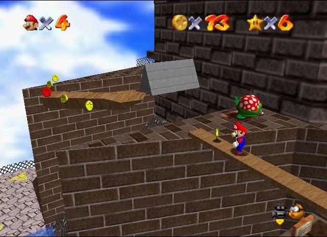 <em>Super Mario 64</em>