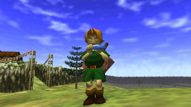 <em>The Legend of Zelda: Ocarina of Time</em>