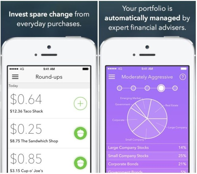 Acorns A Beautiful Iphone App That Automatically Invests