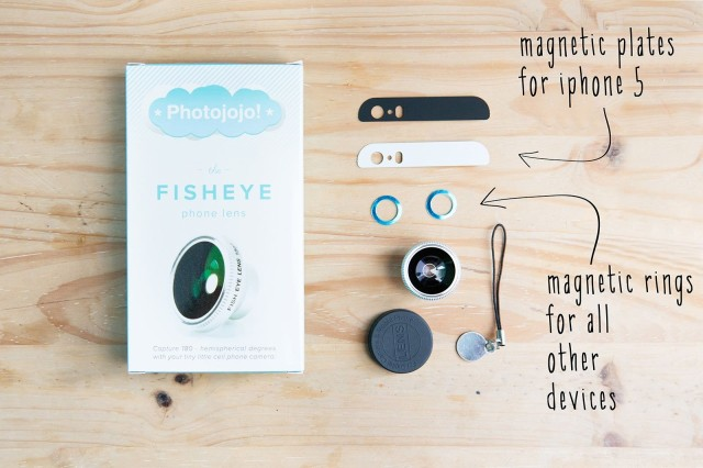 iPhone magnetic lens plates