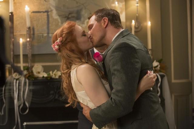 Tying the knot. Photo: John P. Johnson/ HBO