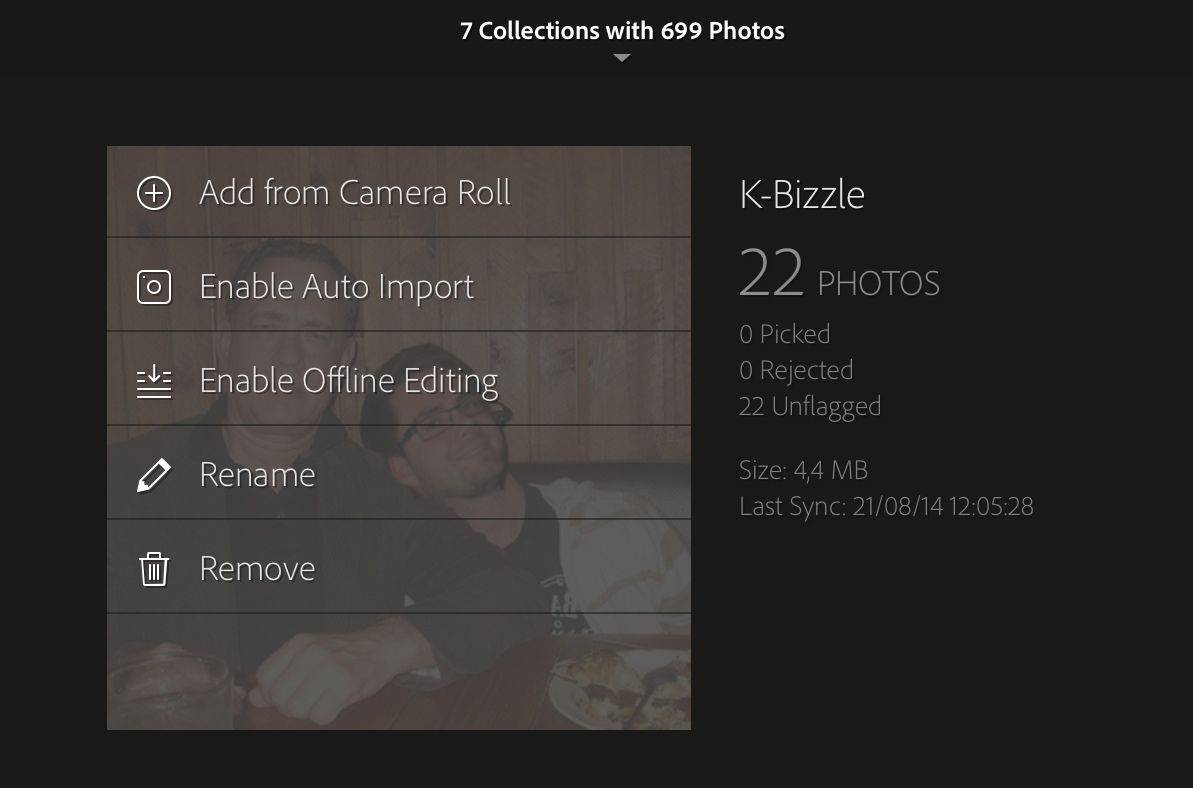 Lightroom Mobile shows the future of iOS photos