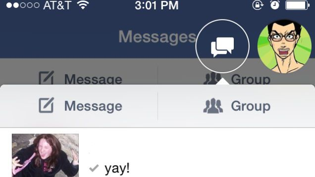 How to access your Facebook messages in iOS without installing