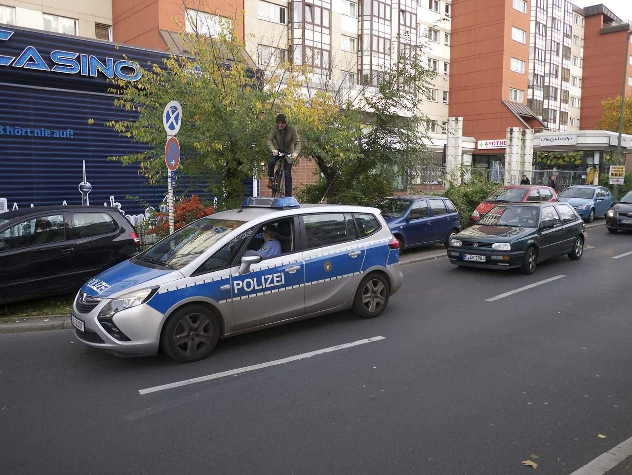 Police Car. Berlin, 2013