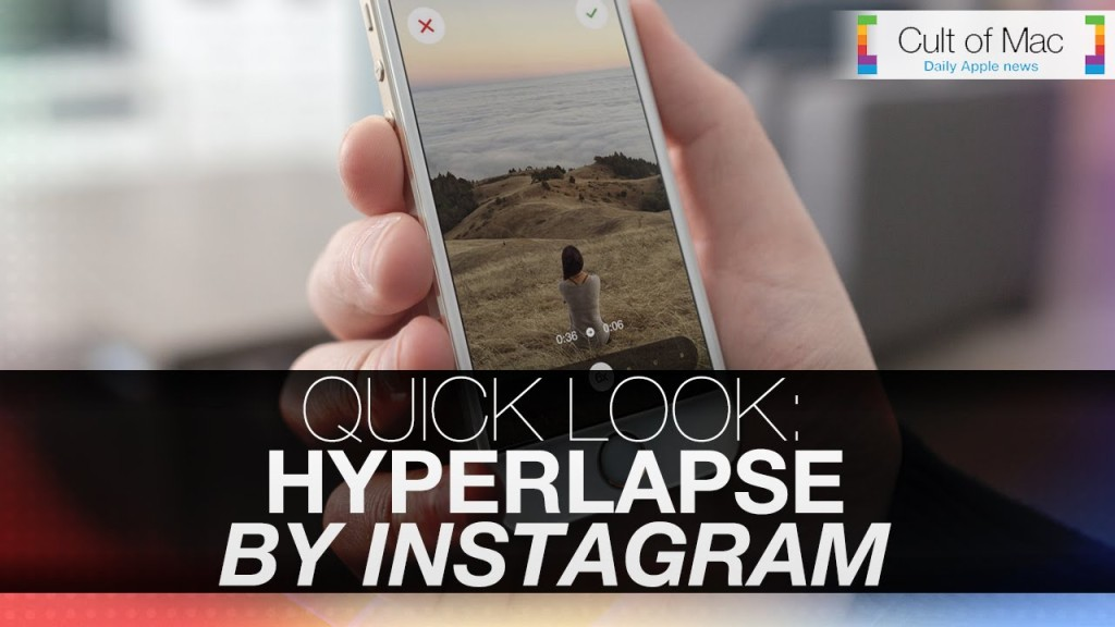 How to make impressive time lapse videos with hyperlapse cult of mac how to make impressive time lapse videos with hyperlapse ccuart Images