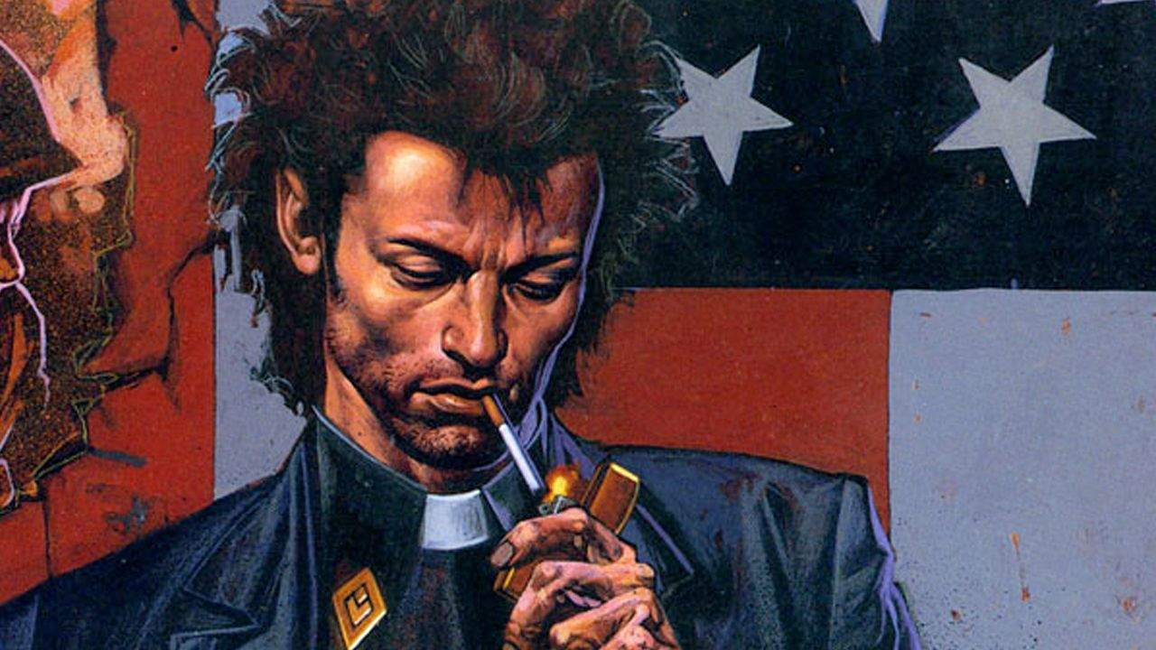 Preacher, based on the ultra-violent and incredibly profane comic book series from Garth Ennis and Steve Dillon at Vertigo, is a not-so-safe bet. That's why we're super-glad that AMC (The Walking Dead) has picked up this amazing look at American culture and its obsession with big guns, Christianity and hyper-masculinity, all filtered through a Texas setting. The show reportedly will debut in 2015.