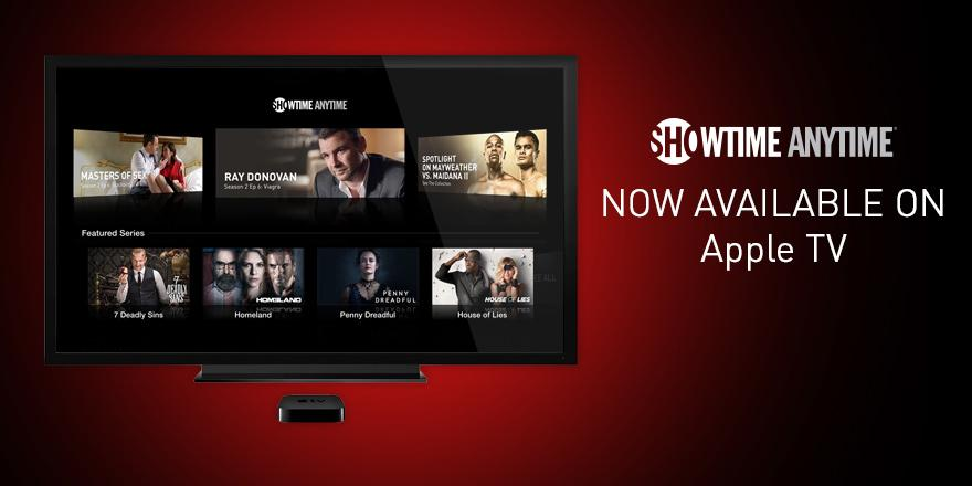 Get your Showtime Anytime with Apple TV