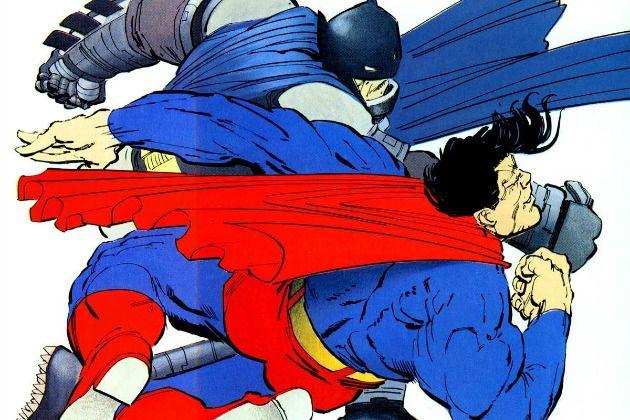 Give us a Batman vs. Superman fight