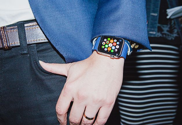 Apple employees have been spotted wearing Apple Watch in the wild
