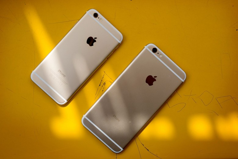 The iPhone 6s and 6s Plus will look just like the iPhone 6.