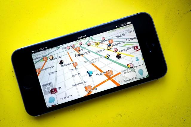 Waze maps app