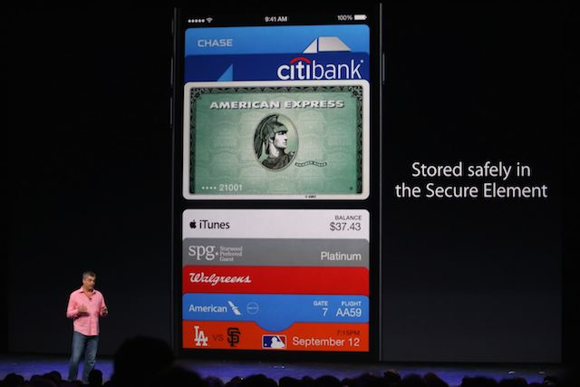 Eddy Cue launches Apple Pay. Photo: Roberto Baldwin/The Next Web.