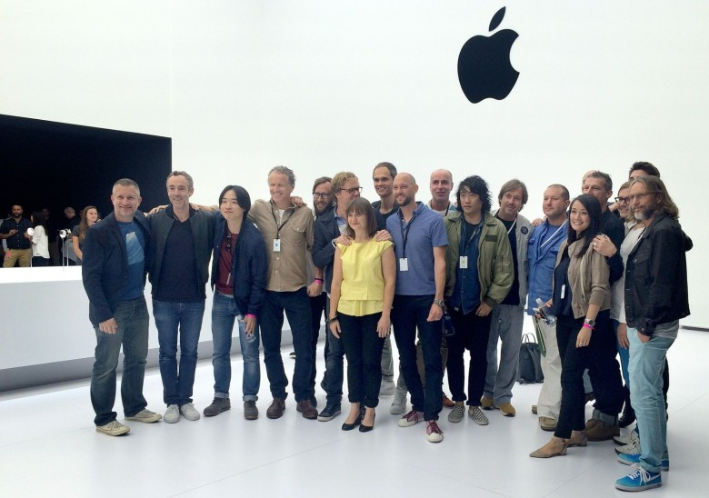 Daniel Coster, fourth from left, is leaving Apple's vaunted industrial design team.