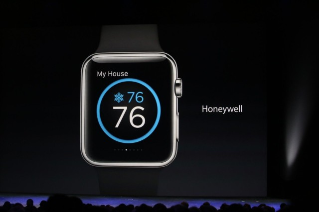 Control your thermostat from your wrist. Photo: Roberto Baldwin/ The Next Web
