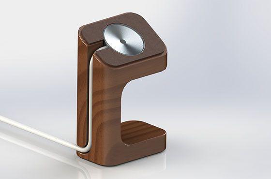 DoDocase Apple Watch charging stand