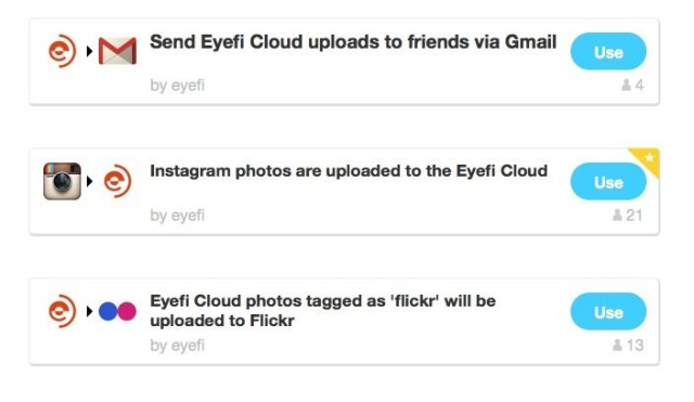 Eye-Fi IFTTT Channel