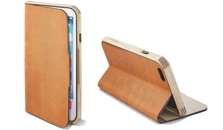 Grovemade Maple & Leather iPhone 6 case