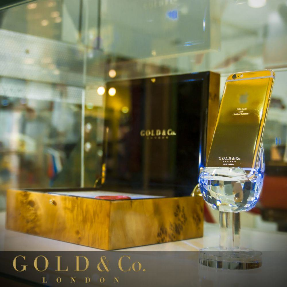 World's first 24-karat gold iPhone 6 is ready for masters of the