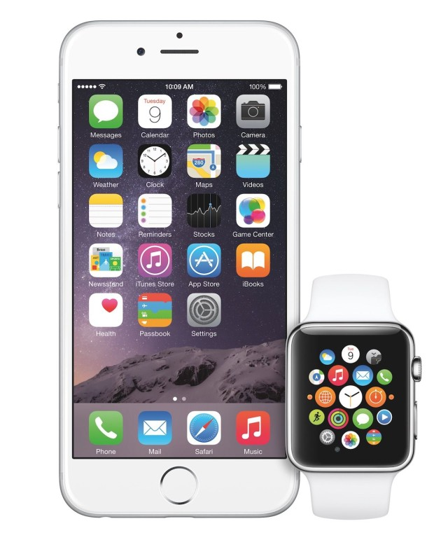 Phone 6 and Apple Watch