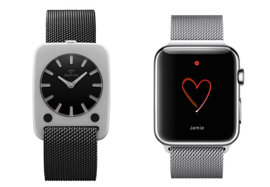 Apple Watch's Milanese Loop strap is identical to that of the Ikepod Solaris.